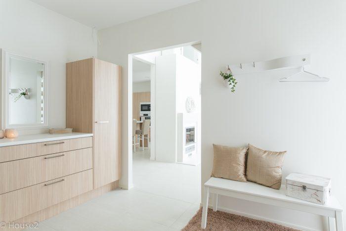 Hartman Koti, Ankkuri, House2, keittiö, Asuntomessut, Seinäjoki, eteinen, kaluste
