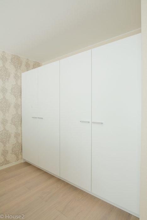 Hartman Koti, Ankkuri, House2, Asuntomessut, Seinäjoki, kaluste, säilytyskalusteet, vaatekomero, makuuhuone