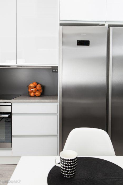House2, keittiö, MDF, alumiini